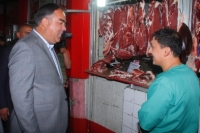 Боздиди Раиси вилоят аз бозори «Панҷшанбе»